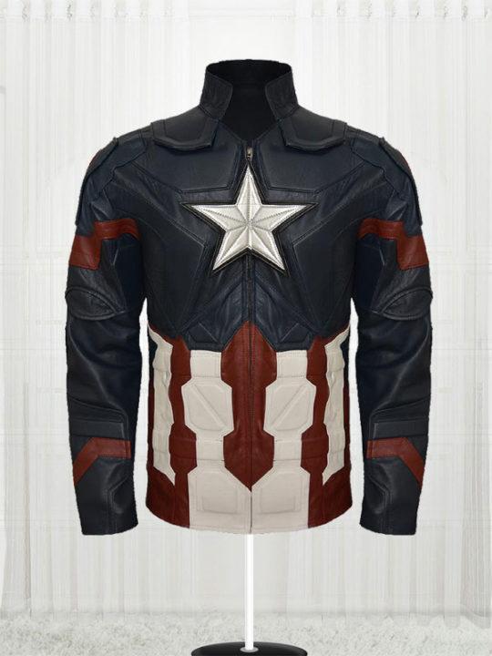 Chris Evans Captain America Civil War Amazing Jacket
