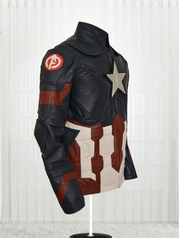 Chris Evans Captain America Civil War Jackets