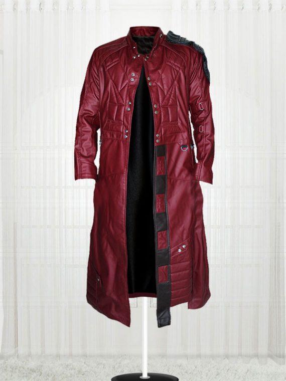 Chris Pratt Guardians Of The Galaxy Red Coat