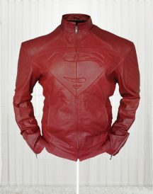 Clark Kent Superman Smallville Red Jacket For Men's