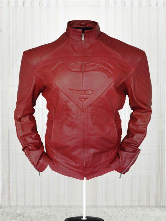 Clark Kent Superman Smallville Red Jacket For Men's