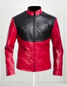 Deadshot Suicide Squad Red And Black Costume Jacket