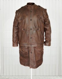 Defiance Grant Bowler Remarkable Leather Men's Trench Coat