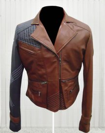 Defiance Julie Benz Amanda Rosewater Leather Jacket