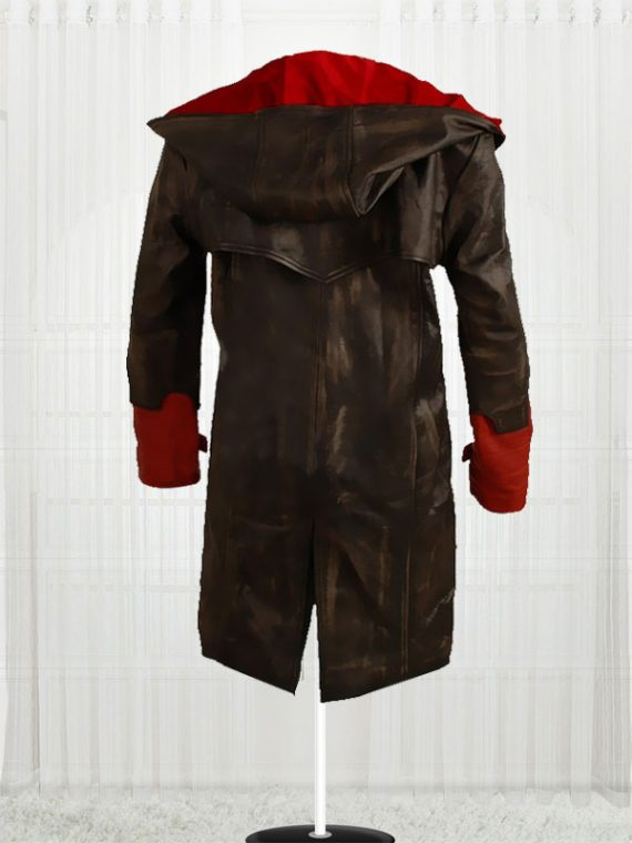 Devil May Cry Red & Black Authentic leather Jackets