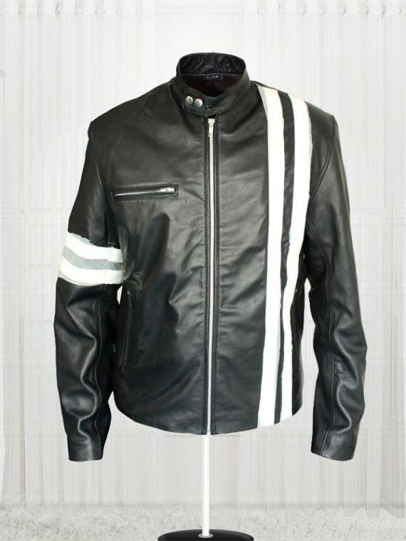 Driver San Francisco Game John Tanner Leather Men's Jacket