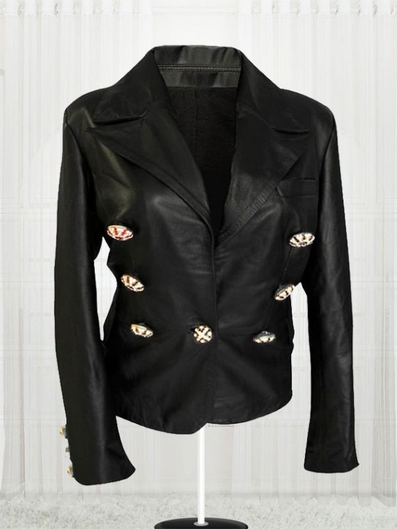Fabulous Paris Kim Kardashian Leather Jackets