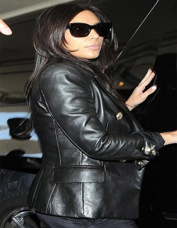 Fabulous Paris Kim Kardashian Leather Women's Jackets