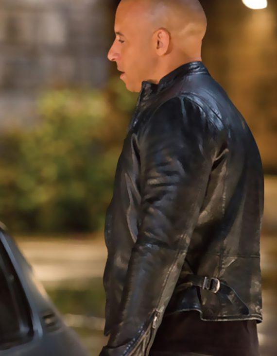 Fast And Furious 6 Vin Diesel Black Men Jackets
