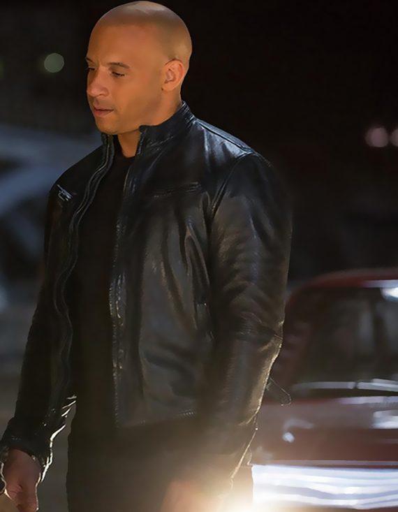 Fast And Furious 6 Vin Diesel Black Men's Jackets