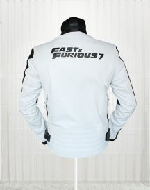 Fast And Furious 7 Vin Diesel White Jacket For Mens