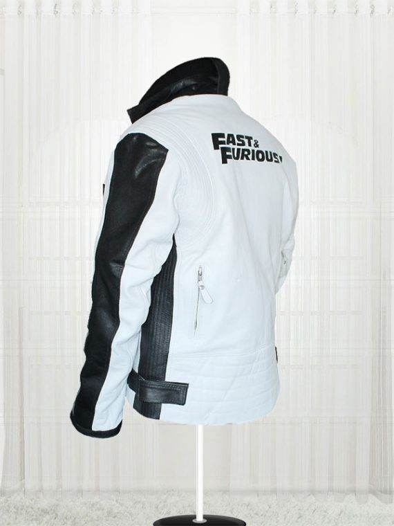 Fast And Furious 7 Vin Diesel White Jackets