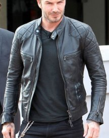 Footballer Brazil Airport David Beckham Jackets For Men