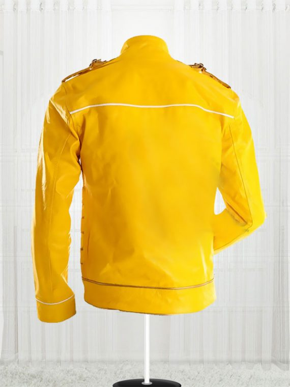 Freddie Mercury Yellow Leather Jackets