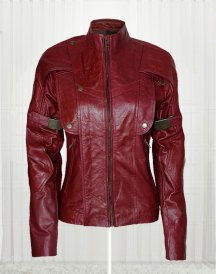 Guardians of the Galaxy Star Lord Women leather jacket