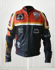 Harley Davidson & The Marlboro Man Leather Jacket