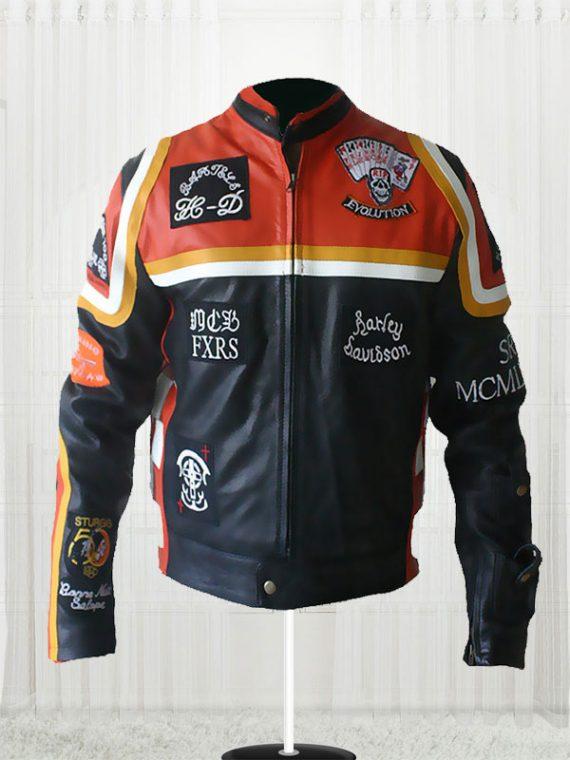 Harley Davidson & The Marlboro Man Leather Jacket