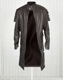 Jeremy Renner Hansel And Gretel Movie trench coat