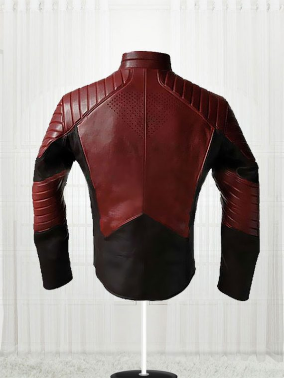 Man Of Steel Clark Kent Red & Black Jackets