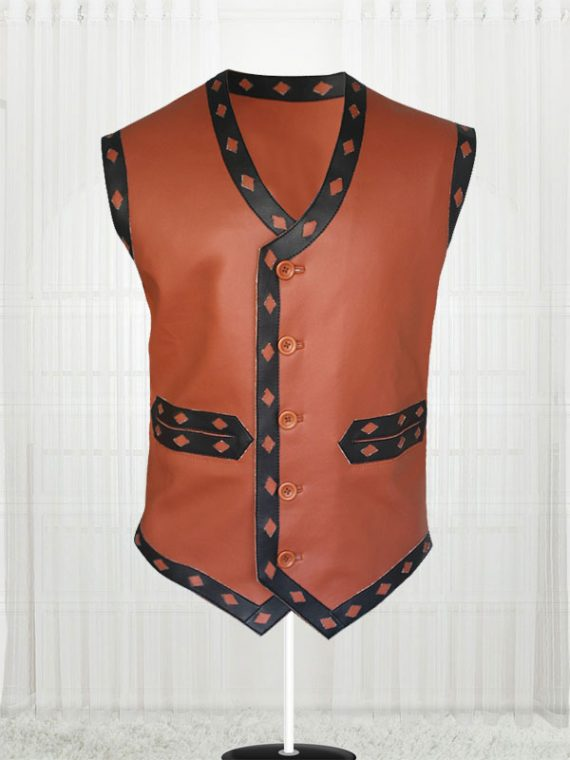 Michael Beck The Warriors Leather Vest