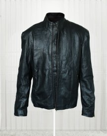 Mission Impossible 5 Rogue Nation Tom Cruise Black Leather Jacket