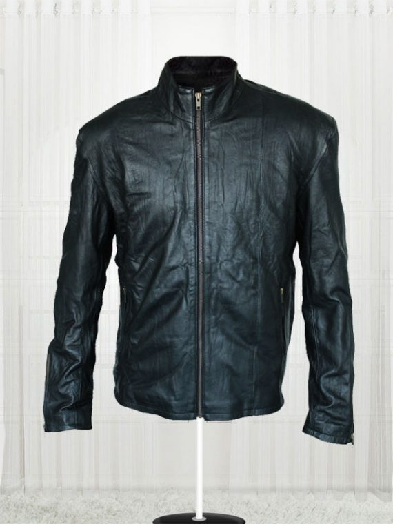 Mission Impossible 5 Rogue Nation Tom Cruise Black Leather Men's Jacket
