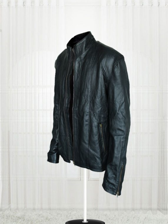 Mission Impossible 5 Rogue Nation Tom Cruise Black Leather Men's Jackets