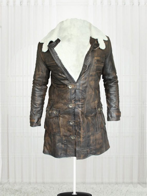 Modish The Dark Knight Rises Tom Hardy Bane Coat getmyleather
