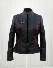N7 Mass Effect Leather Jacket for Women