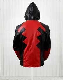 Popular Deadpool Motorcycle Hoodie Leather Jackets