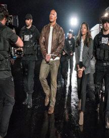 Rampage Movie By Dwayne Johnson Leather jacket