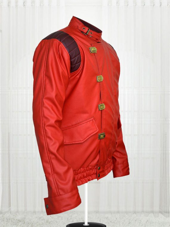 Red Akira Kaneda Jacket for Mens