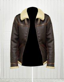 Resident Evil 4 Fur Game Leon Kennedy Jacket