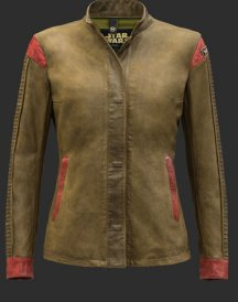 Rey Shirt Leather Jacket