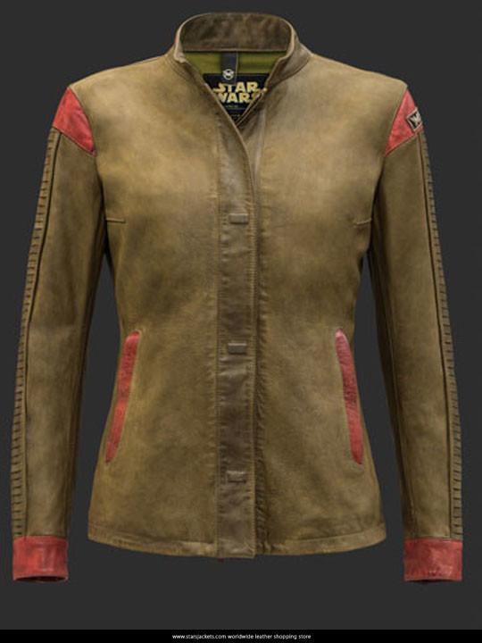 Rey Shirt Leather Jacket