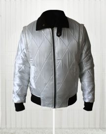 Ryan Gosling Drive Scorpion Movie White Jacket