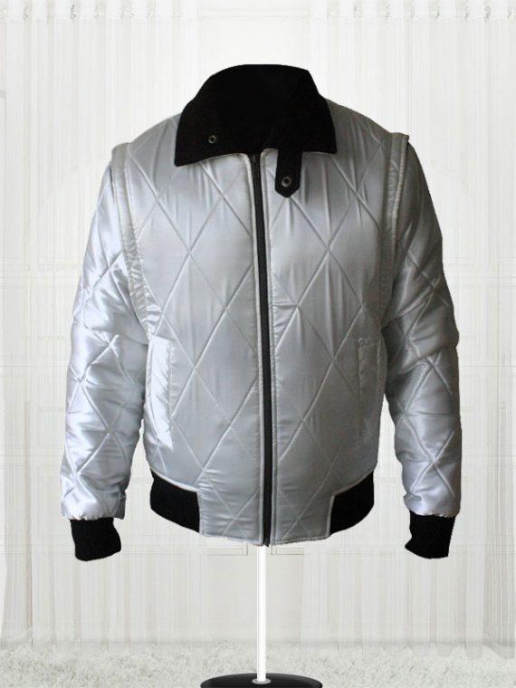Ryan Gosling Drive Scorpion Movie White Jacket