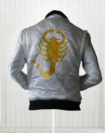 Ryan Gosling Drive Scorpion Movie White Jackets