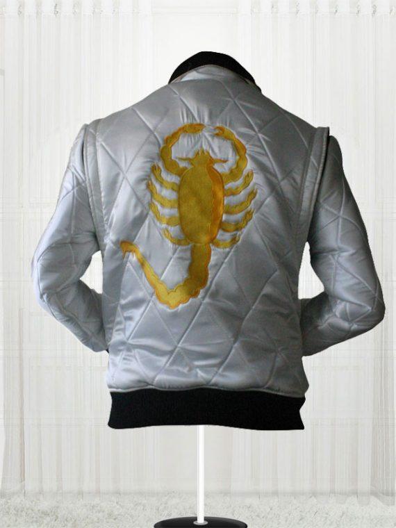 Ryan Gosling Drive Scorpion Movie White Jackets