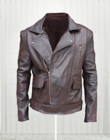 Season Two True Detective Taylor Kitsch Leather Jacket