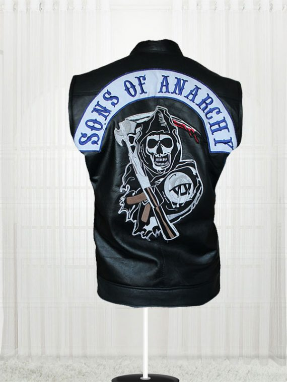 Sons of Anarchy Men's Leather Vest