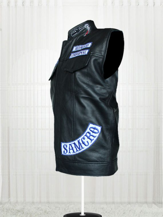 Sons of Anarchy Men's Leather Vests