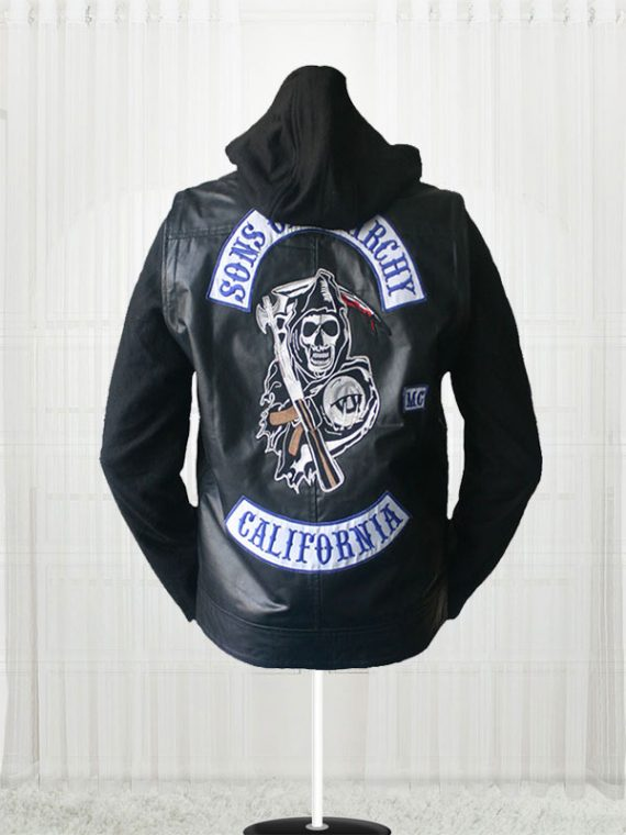 Sons of Anarchy Men Leather Jackets