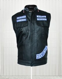 Sons of Anarchy Men Leather Vest