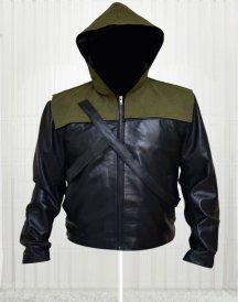 Stephen Amell Arrow Hoodie Jacket