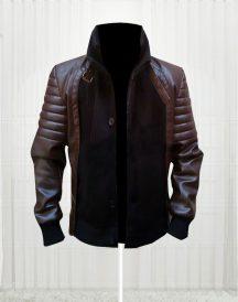 Stylish Horns Daniel Radcliffe lg Prince Leather Jacket
