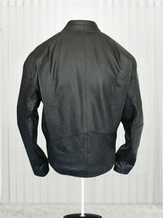 Superman Smallville Men Black Leather Jackets