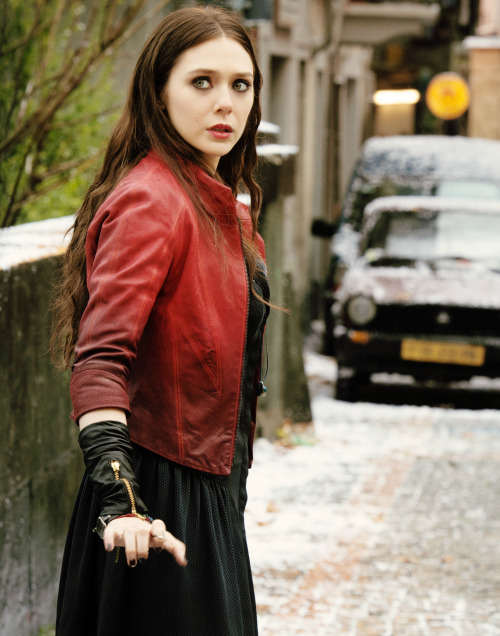 The Avengers Age of Ultron Scarlet Witch (Elizabeth Olsen) Jackets