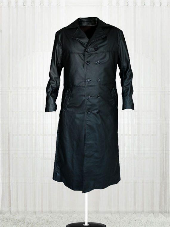 The Crow Eric Draven Trench Black Coat