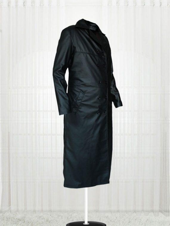 The Crow Eric Draven Trench Black Men's Coat